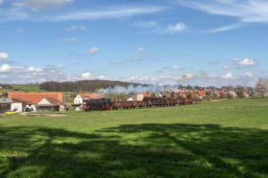 Bundesbahndampf IV mit 064 419-5 // Federal Railroad Steam IV with 064 419-5