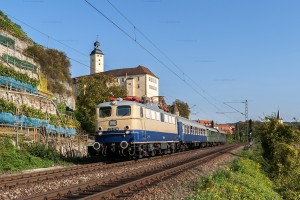 """Reisen wie vor 50 Jahren"" mit E 10 1239 // ""Travel like 50 years ago"" with E 10 1239"