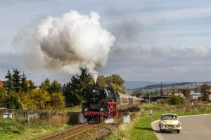 Dampf trifft Kies mit 41 1144-9 // Steam meets gravel with 41 1144-9