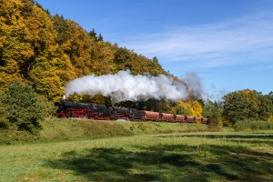 Dampf trifft Kies mit 44 2546-8 und 41 1144-9 // Steam meets gravel with 44 2546-8 and 41 1144-9