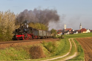 Bundesbahndampf 7 in der Oberpfalz mit 38 3101 // Federal Railroad Steam 7 in the Upper Palatinate with 38 3101