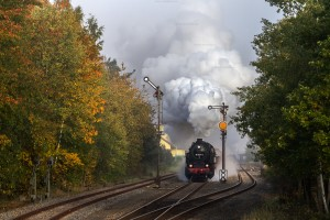 Dampf trifft Kies mit 95 1027-2 in Immelborn // Steam meets gravel with 95 1027-2 in Immelborn