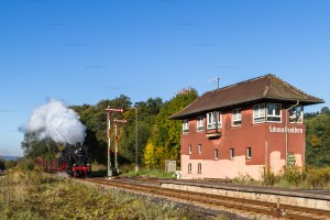 Dampf trifft Kies mit 95 1027-2 in Schmalkalden // Steam meets gravel with 95 1027-2 in Schmalkalden