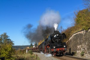 Dampf trifft Kies mit 41 1144-9 und 44 2546-8 in Walldorf // Steam meets gravel with 41 1144-9 and 44 2546-8 in Walldorf