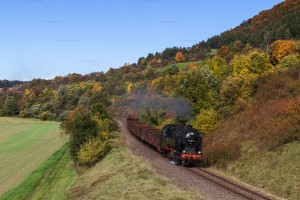 Dampf triff Kies mit 95 1027-2 //  Steam meets gravel with 95 1027-2
