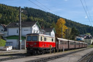 Mariazellerbahn mit 1099.14 in Mariazell // Mariazellerbahn with 1099.14 in Mariazell station