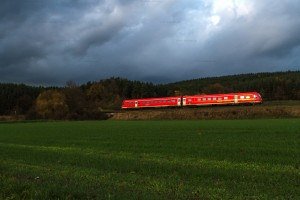BR 612 mit RE 3010 bei Ramsenthal // BR 612 with RE 3010 near Ramsenthal
