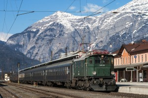 IGE Sonderzug mit 1245.04 in Saalfelden (AT) // IGE passenger special with 1245.04 in Saalfelden (AT)